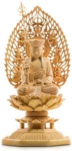 地蔵菩薩 仏壇仏像 木彫り ¥8,999