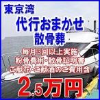 散骨サービス 東京湾代行海洋散骨葬