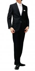メンズ ブラックスーツ 喪服 礼服 ¥ 10,800